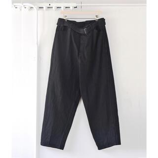 COMOLI - 【20AW/希少品】comoli ベルテッド デニム パンツ ブラック