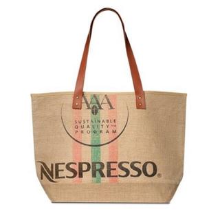 ネスレ(Nestle)のNESPRESSO ネスプレッソ ジュート トートバック(非売品)未使用(トートバッグ)
