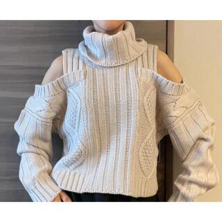ムルーア(MURUA)のムルーア MURUA◆セーター◆ベージュ色◆肌触り良いです◇新品♪(ニット/セーター)