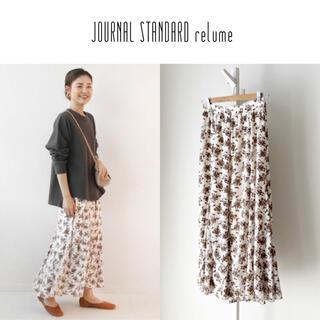ジャーナルスタンダード(JOURNAL STANDARD)のJS relume フラワーシフォンマーメイドスカート(ロングスカート)