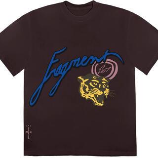 フラグメント(FRAGMENT)のTravis Scott fragment Tシャツ XL(Tシャツ/カットソー(半袖/袖なし))
