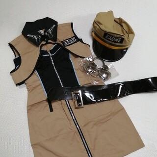 ハロウィン コスプレ アメリカンポリス(衣装一式)