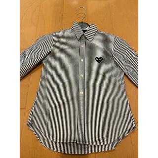 コムデギャルソン(COMME des GARCONS)のコムデギャルソン カッターシャツ ストライプシャツ(シャツ/ブラウス(長袖/七分))