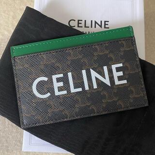 celine - セリーヌ カードホルダー トリオンフ CELINEプリント 名刺入れ 未使用