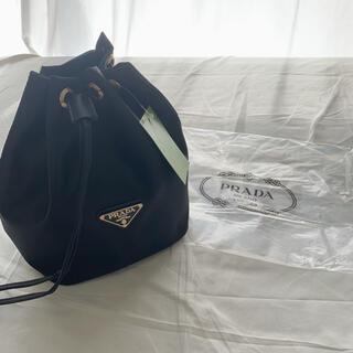 PRADA - PRADA 巾着 バッグ 黒 ポーチ