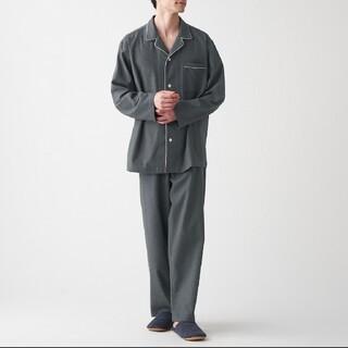 ムジルシリョウヒン(MUJI (無印良品))の脇に縫い目のない フランネルパジャマ(その他)