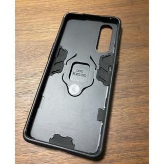 オッポ(OPPO)のoppo Reno3 5G リング付きケース(Androidケース)