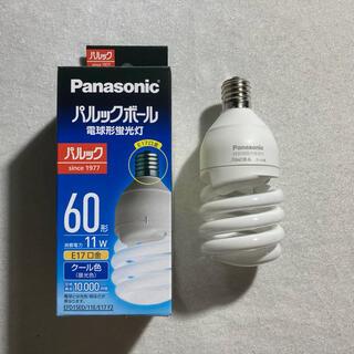 【新品】Panasonic パルックボール 電球形蛍光灯 60形 クール色E17