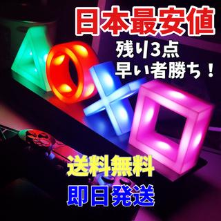 プレイステーション4(PlayStation4)のPS4 プレステ アイコンライト icons light ネオンライト(PC周辺機器)
