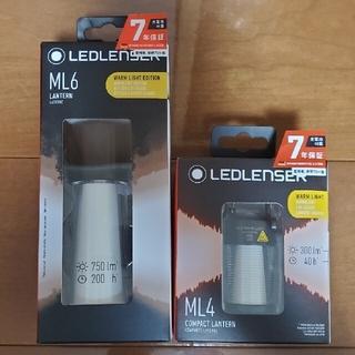 レッドレンザー(LEDLENSER)の専用 新品未使用 LEDLENSER ML6(WARM)&ML4(WARM)セッ(ライト/ランタン)