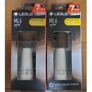 レッドレンザー(LEDLENSER)のF様専用 新品未使用 LEDLENSER ML6(WARM) 2個セット(ライト/ランタン)