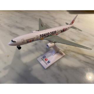 ジャル(ニホンコウクウ)(JAL(日本航空))のJAL 東京オリンピックデザイン 小型模型(模型/プラモデル)