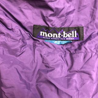 モンベル(mont bell)のmont-bell バロウバック#2☆モンベル 寝袋 シェラフ(寝袋/寝具)