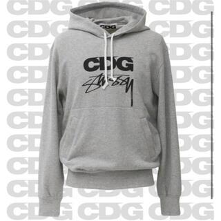 コムデギャルソン(COMME des GARCONS)のSTUSSY × CDG Hooded sweatshirt(パーカー)
