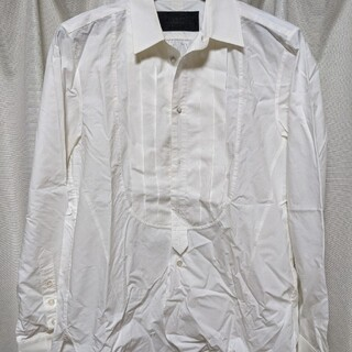 ナンバーナイン(NUMBER (N)INE)の【SEA&&SKY様専用】ナンバーナイン クラシックライン プリーツシャツ(シャツ)