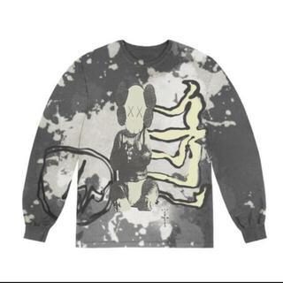 フラグメント(FRAGMENT)のCACTUS JACK KAWS FOR FRAGMENT L/S TEE(Tシャツ/カットソー(半袖/袖なし))