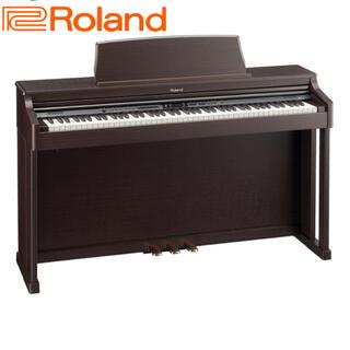 ローランド(Roland)のRoland【美品】HP205-MH 電子ピアノ♫最上位機種 椅子付き(電子ピアノ)