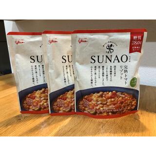 グリコ(グリコ)のグリコ SUNAO  完熟トマトリゾット 3パック(レトルト食品)