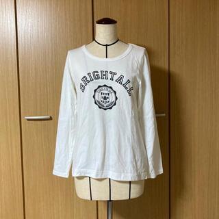 サマンサモスモス(SM2)の【サマンサモスモス】オフ白Tシャツ (Tシャツ(長袖/七分))