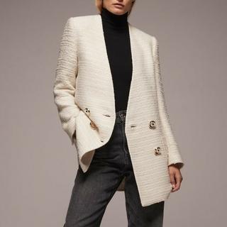ダブルスタンダードクロージング(DOUBLE STANDARD CLOTHING)のZARAコートKBFラグナムーンFRAY I.DセルフォードELINアパルトモン(ノーカラージャケット)