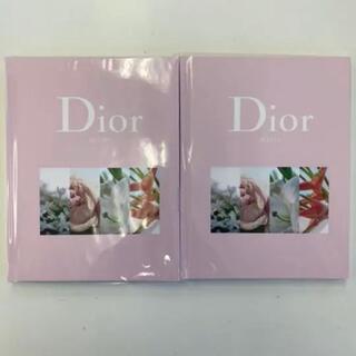 ディオール(Dior)のoggi付録 Diorノート2冊セット(ノート/メモ帳/ふせん)