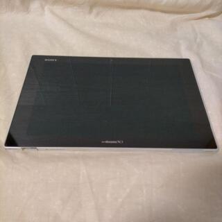 ソニー(SONY)の【ジャンク品】SONY Xperia Tablet Z SO-03E WHITE(タブレット)