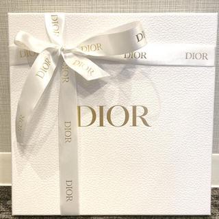 クリスチャンディオール(Christian Dior)のDIOR ブティック 箱 リボン セット(ラッピング/包装)