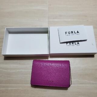 フルラ(Furla)のFURLA カードケース 箱つき(名刺入れ/定期入れ)