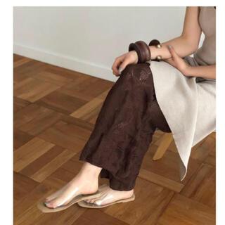 トゥデイフル(TODAYFUL)のTODAYFUL  Sheer Knit Leggings (レギンス/スパッツ)