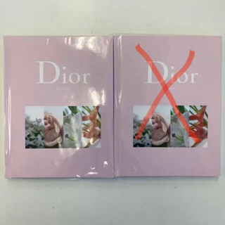 ディオール(Dior)のoggi付録 Diorノート1冊セット(ノート/メモ帳/ふせん)