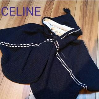 セリーヌ(celine)のCELINE ポンチョ ネイビー セリーヌ(ジャケット/上着)