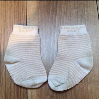 バーバリー(BURBERRY)のBURBERRY 靴下 9cm(靴下/タイツ)