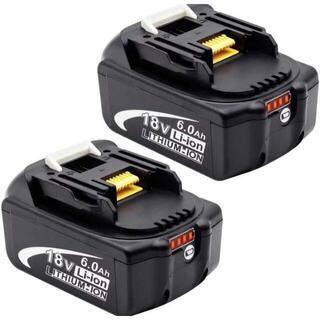 マキタ 互換バッテリー BL1860B 2個セット(工具/メンテナンス)
