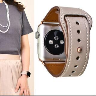 アップルウォッチ(Apple Watch)のアップルウォッチ バンド 本革(腕時計)