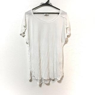 ランバンオンブルー(LANVIN en Bleu)のランバンオンブルー 半袖Tシャツ 38 M - 白(Tシャツ(半袖/袖なし))