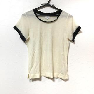 ランバンオンブルー(LANVIN en Bleu)のランバンオンブルー 半袖Tシャツ 38 M美品 (Tシャツ(半袖/袖なし))