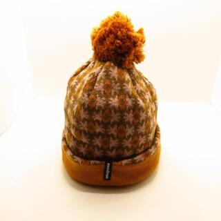 パタゴニア(patagonia)のパタゴニア ニット帽美品  ポリエステル(ニット帽/ビーニー)