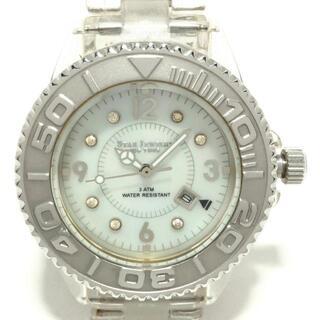 スタージュエリー(STAR JEWELRY)のスタージュエリー 腕時計 ICE TIME 白(腕時計)