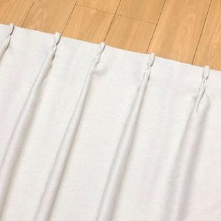 ムジルシリョウヒン(MUJI (無印良品))の無印良品 カーテン 防炎・遮光1級 178丈 2枚組(カーテン)