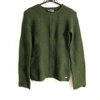サルヴァトーレフェラガモ(Salvatore Ferragamo)のサルバトーレフェラガモ 長袖セーター XS -(ニット/セーター)