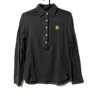 パーリーゲイツ(PEARLY GATES)のパーリーゲイツ 長袖ポロシャツ サイズ0 XS(ポロシャツ)