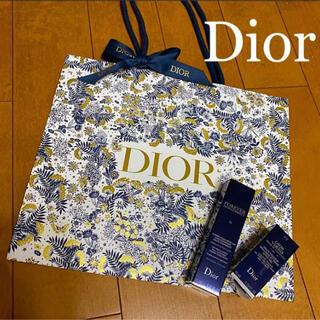 クリスチャンディオール(Christian Dior)のディオール ホリデー 限定 ショッパー 1枚  匿名便送料込み 紙袋 ラッピング(ラッピング/包装)
