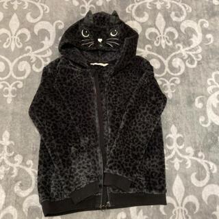 H &M モコモコ猫パーカー150くらい