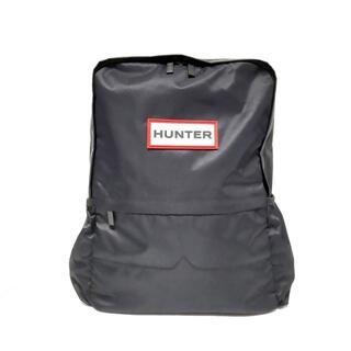 ハンター(HUNTER)のハンター リュックサック - 黒 ナイロン(リュック/バックパック)