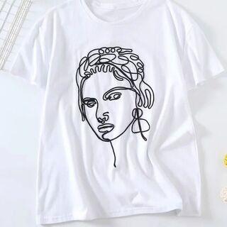 ZARA - 刺繍Tシャツ S~L