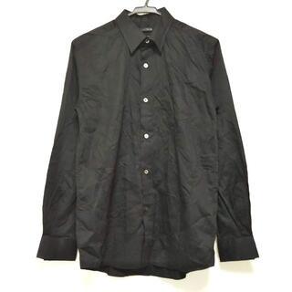 ナンバーナイン(NUMBER (N)INE)のナンバーナイン 長袖シャツ サイズ4 XL 黒(シャツ)