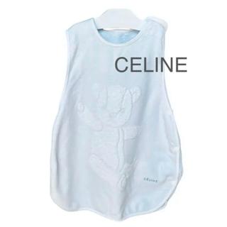 セリーヌ(celine)のCELINE セリーヌ 水色 ベアー タオルスリーパー ベビースリーパー 男の子(おくるみ/ブランケット)