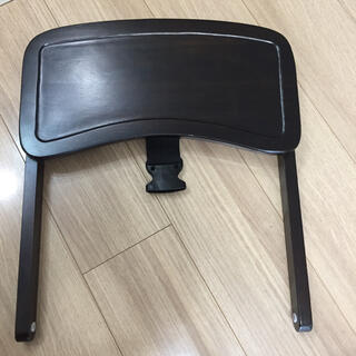 カトージ(KATOJI)のカトージ ベビーハイチェア ブラウン テーブルのみ(その他)