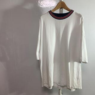 フリークスストア(FREAK'S STORE)のfreak's store Tシャツ M-L 白 品番442(Tシャツ/カットソー(半袖/袖なし))