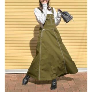 CHUMS - CHUMS/チャムス オールオーバーザオーバーオールスカート